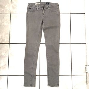 Adriano Goldschmied Womans Gray Ankle Skinny Jeans